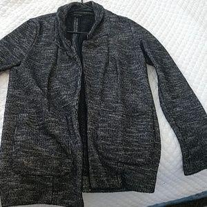 Topshop marled boyfriend blazer, size 4
